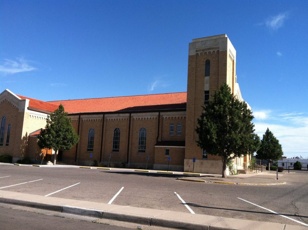 K Ram Roofing Doing Roof Project On Church In Albuquerque
