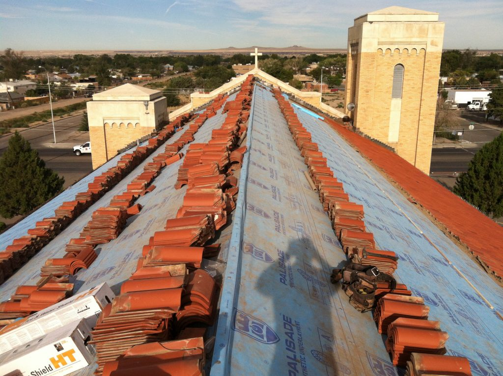Commercial Roof Replacement On Church K Ram Roofing