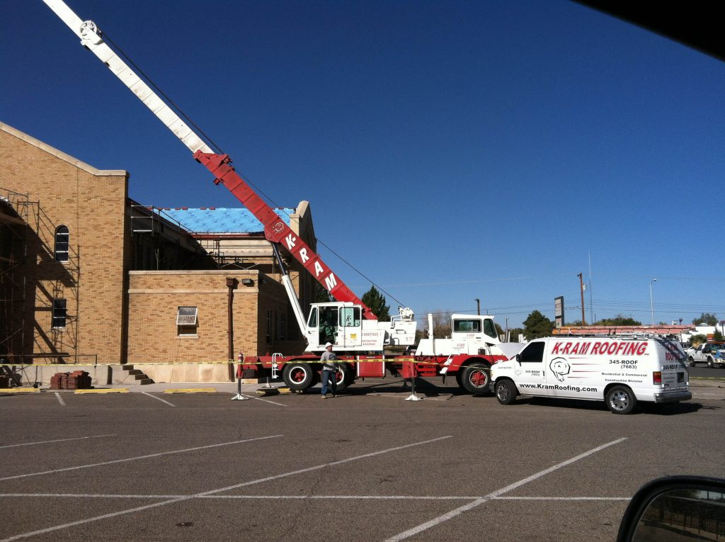 Commercial Roofing Services K Ram Roofing Company